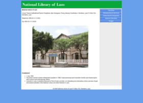 nationallibraryoflaos.org