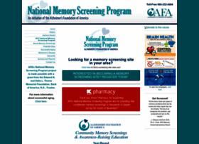 nationalmemoryscreening.org