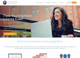 nationalonlineinsuranceschool.com