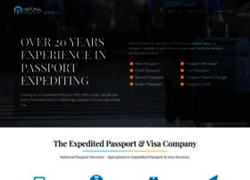nationalpassportservice.com