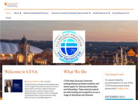 nationalscholarships.syr.edu