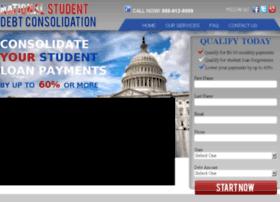nationalstudentdebtconsolidation.com