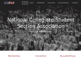nationalstudentsection.com