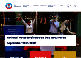 nationalvoterregistrationday.org
