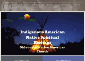 nativeamericanchurches.org