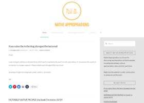 nativeappropriations.blogspot.com