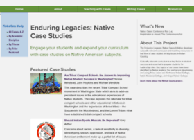 nativecases.evergreen.edu