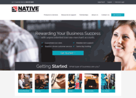 nativemerchantservices.com
