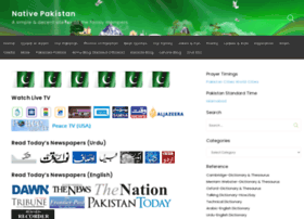 nativepakistan.com