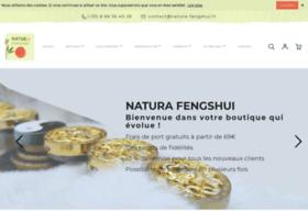 fengshui.fr Natura-Fengshui : boutique d'articles zen et fengshui