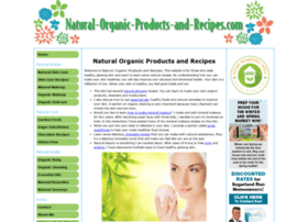 natural-organic-products-and-recipes.com