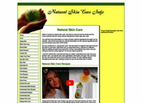 natural-skin-care-info.com