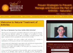 natural-treatment-of-arthritis-institute.com.au