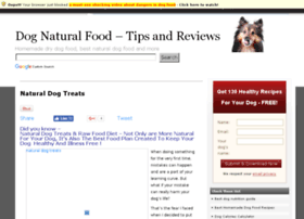 naturaldogfood.info