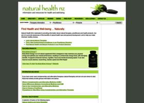 naturalhealthnz.net