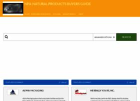 naturalproductsbuyersguide.com