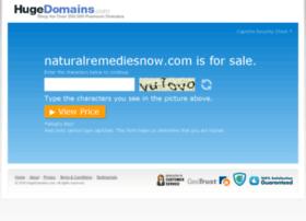 naturalremediesnow.com