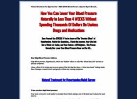 naturaltreatmentforhypertension.com