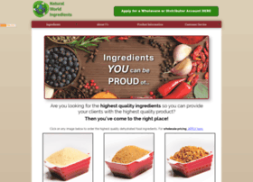 naturalworldingredients.com