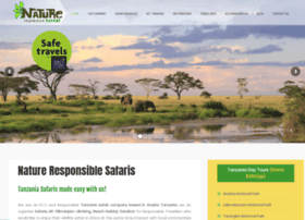 natureresponsiblesafari.com