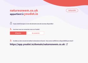 naturesneem.co.uk