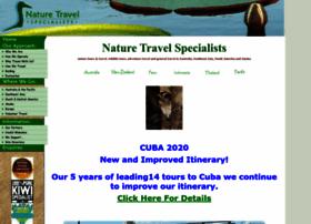 naturetravelspecialists.com