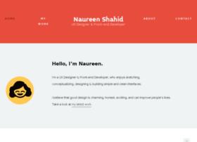 naureenshahid.com