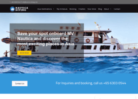 nautica-diving.com