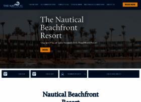 nauticalbeachfrontresort.com