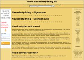 navnebetydning.dk