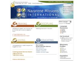 nazarenemissions.com