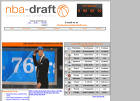 nba-draft.com info. NBA-DRAFT.COM - NBA Draft, Mock Drafts and