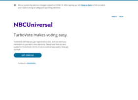 nbcuniversal.turbovote.org