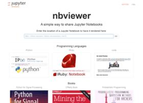 Nbviewer.jupyter.org