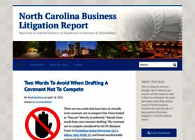ncbusinesslitigationreport.com