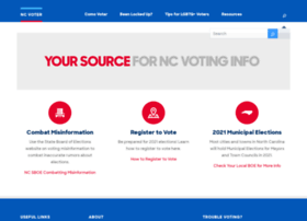 ncelectionconnection.com