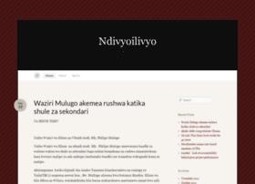 ndivyoilivyo.wordpress.com