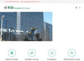 ndpharmaceuticals.com