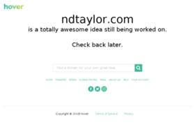 ndtaylor.com