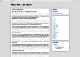 nearestcarwash.blogspot.in