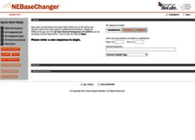 nebasechanger.neb.com
