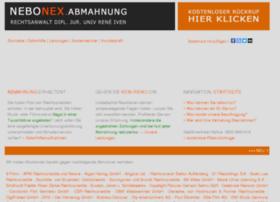 nebonex-abmahnung.de