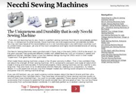 necchisewingmachine.info