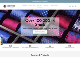 necktiesinstock.com