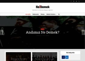 nedemek.com.tr