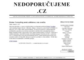 nedoporucujeme.cz