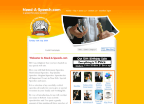 need-a-speech.com
