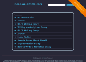 need-an-article.com