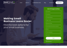 needasmallbusinessloan.com