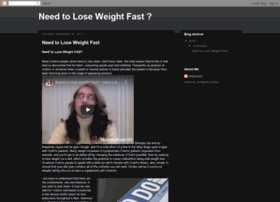 needtoloseweightfastnow.blogspot.com